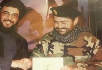 Hajj Maher with Nasrallah