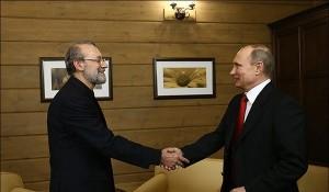 Putin and Larijani