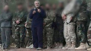 Qassem Soleimani with Fighters in Syria