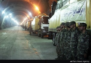 Iran State Media Releases Footage Of Secret Underground Missile Base (Photo credit: Fars News)