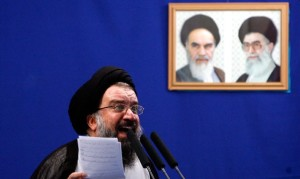 Ayatollah Ahmad Khatami (Photo Credit- AFP)