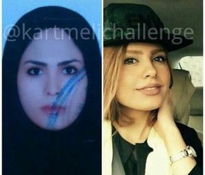 #Kartmelichallenge_woman