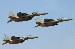KSA Fighter Jets (Photo Credit: SANA)