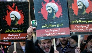 Anti-Saudi Protestors in Iran (Photo Credit- Fars News)