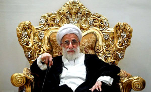 Ayatollah Jannati (Photo Credit- Iran Human Rights Organization) )