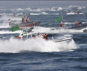 IRGC Speed Boats (Photo Credit- IRNA)