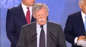 John Bolton Speaking at Free Iran Rally in Paris (Photo Credit: iranor)