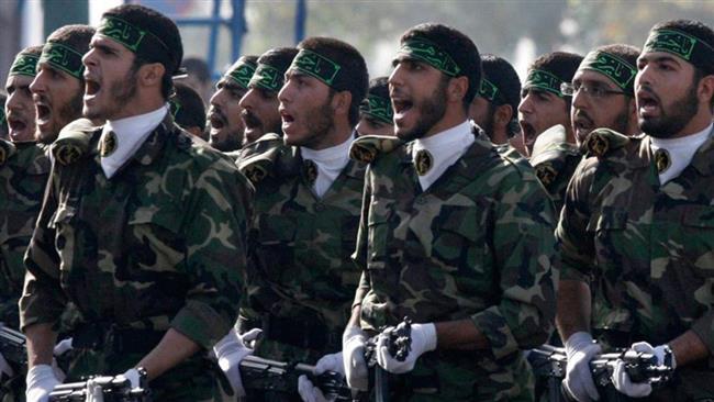 IRGC soldiers