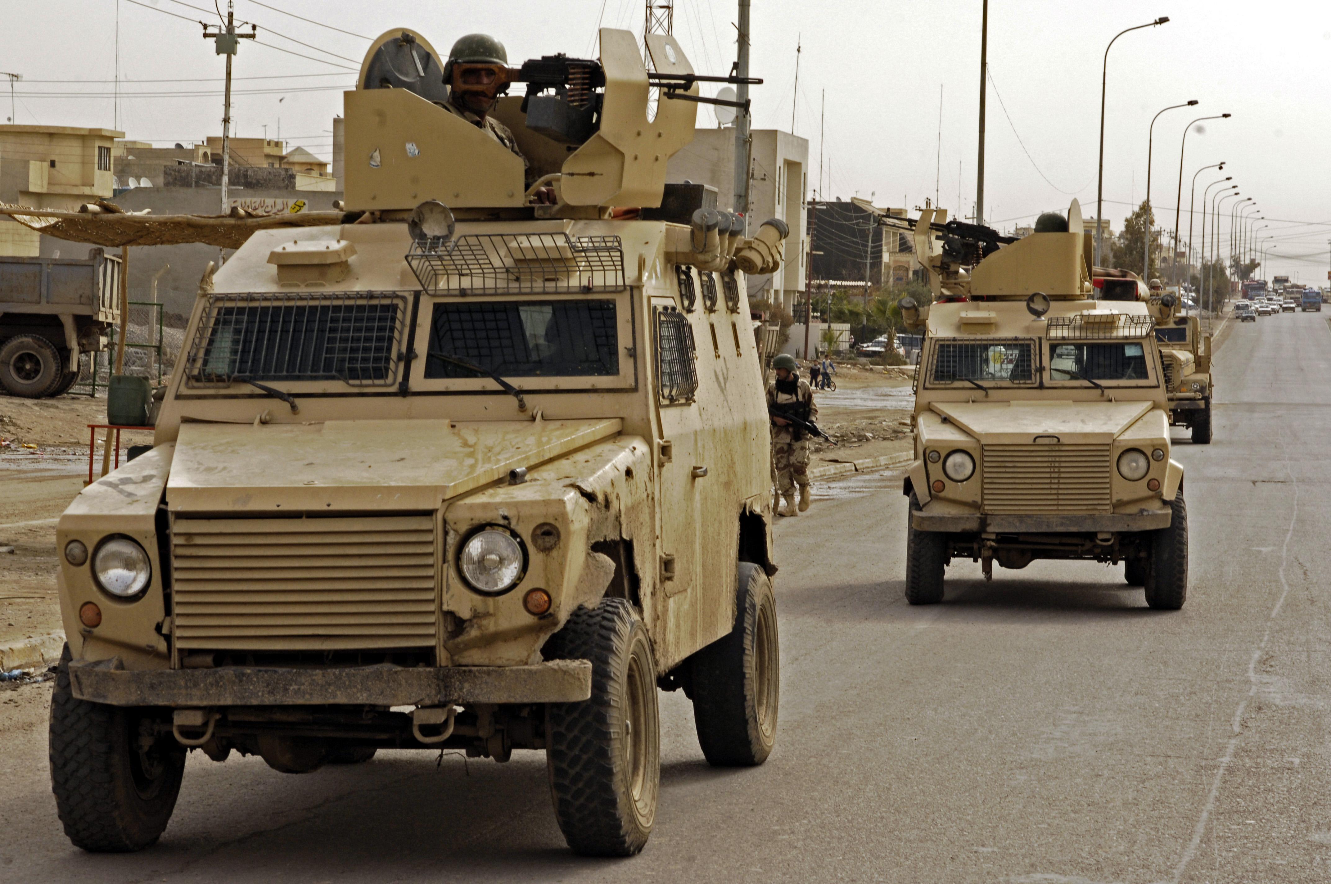 Mosul patrol