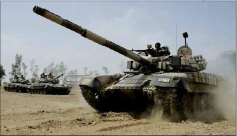Iranian T-72 tank