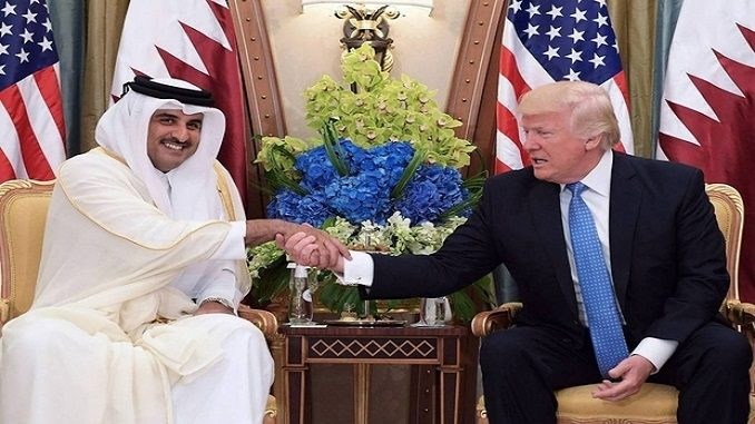 Trump Contacts Emir of Qatar, Urges End to Iranian Meddling